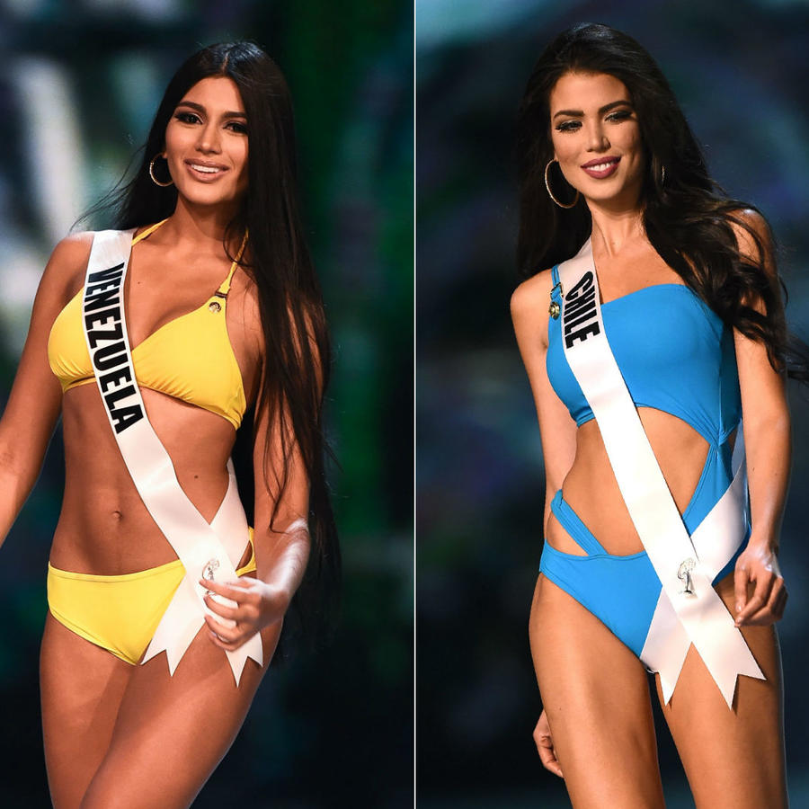Miss Venezuela, Miss Chile, Miss Colombia