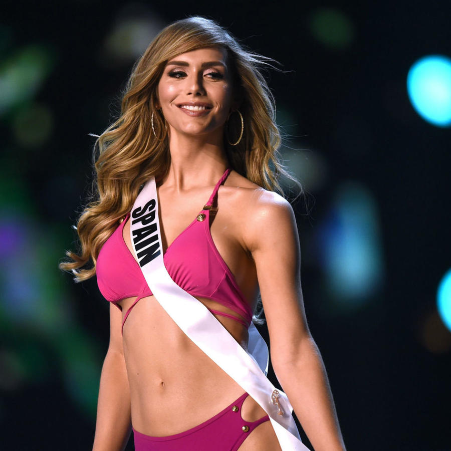 Ángela Ponce, Miss España, en Miss Universo 2018