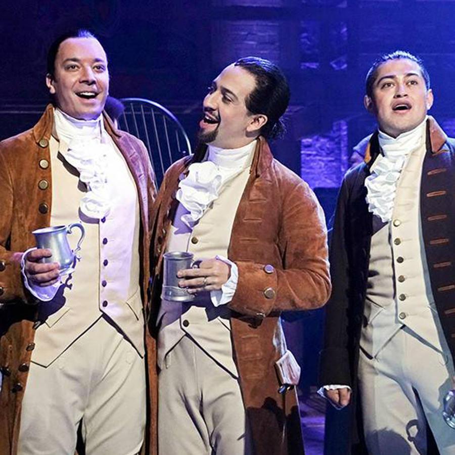 Jimmy Fallon Goes Full Hamilton and Sings With Lin-Manuel Miranda