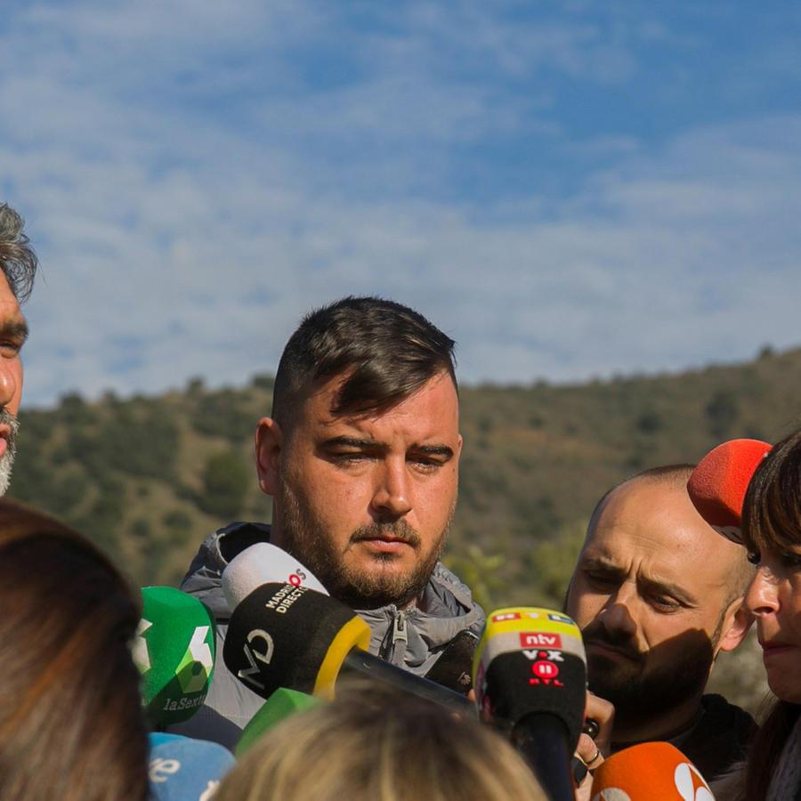 José Roselló, padre de Julen, el niño de dos años que cayó el pasado domingo a un pozo de más de cien metros de profundidad en Totalán (Málaga)