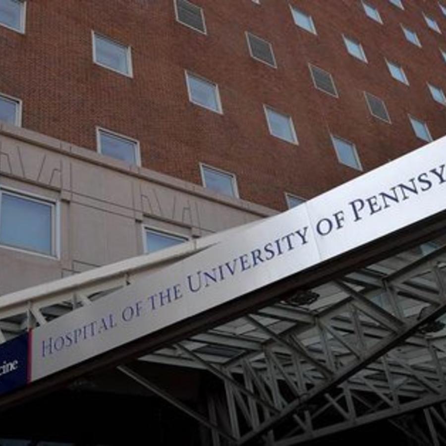 El hospital de la Universidad de Pensilvania en una foto de archivo.