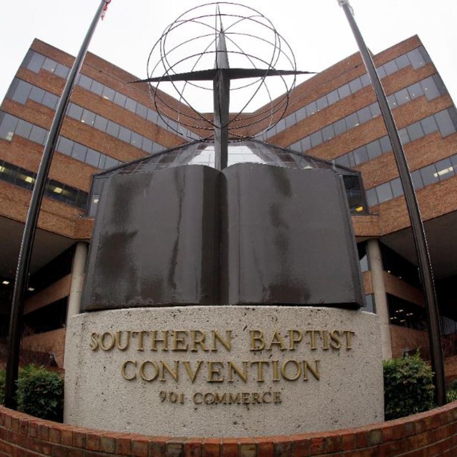 Foto de archivo de la sede de la Convención Bautista del Sur en Nashville, Tennessee.
