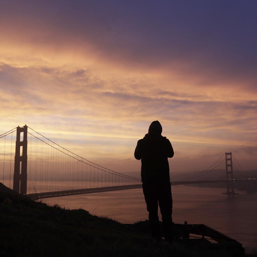 Fotografía de archivo del puente Golden Gate en San Francisco, California