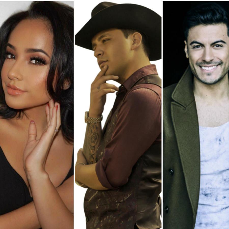 Becky G, Christian Nodal, Carlos Rivera, Prince Royce