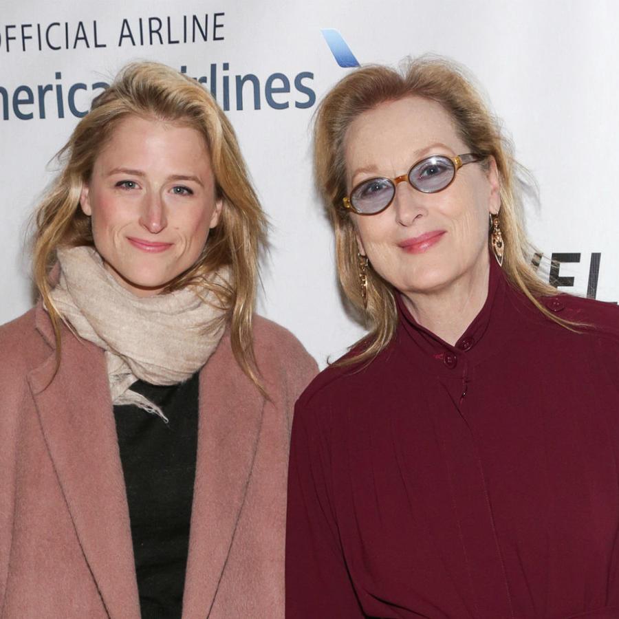 Mamie Gummer con Meryl Streep, 2015
