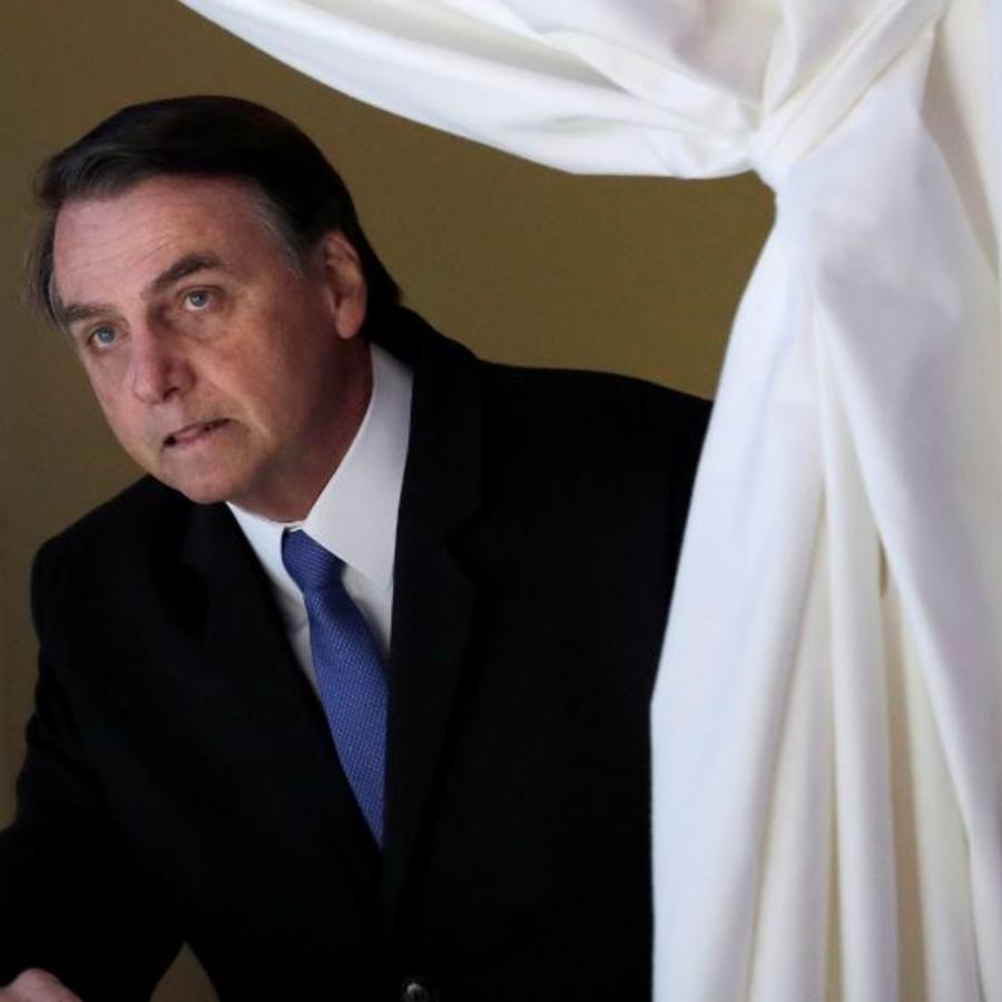 El presidente brasileño, Jair Bolsonaro, en una foto de archivo.