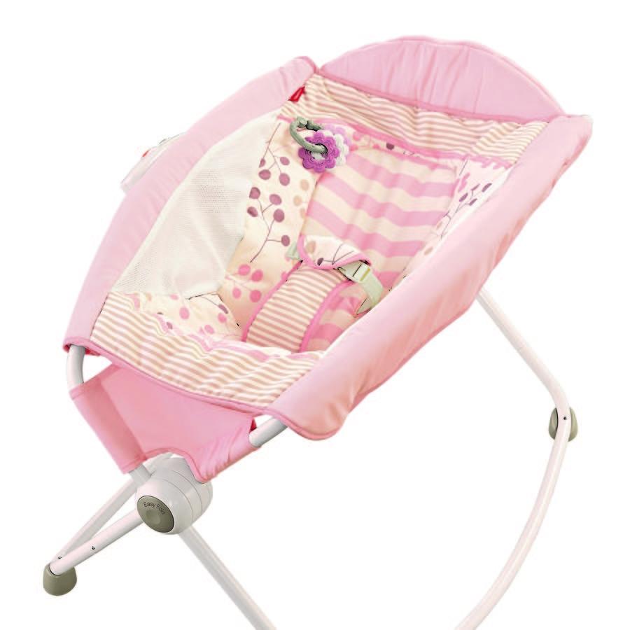 Modelo de la silla Rock'n Play de Fisher Price que ha causado la muerte de al menos 30 bebés, según informó la Comisión de Seguridad de Productos del Consumidor