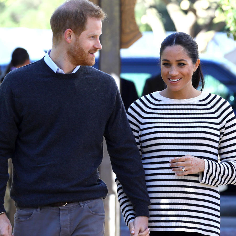 Harry y Meghan Markle en 2019