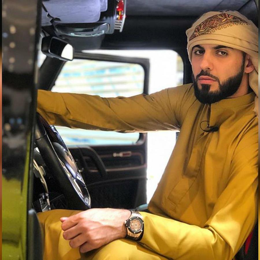 """Omar Borkan, el """"hombre más guapo del mundo"""""""