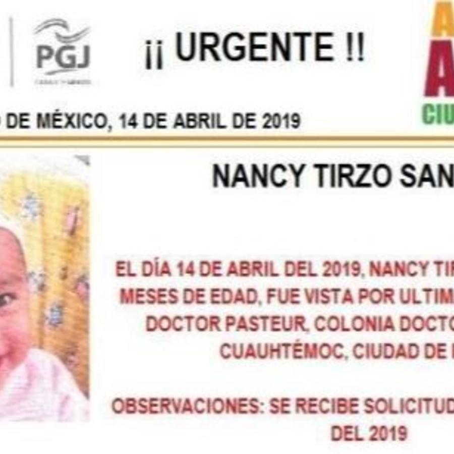 Nancy Tirzo Sánchez supuestamente fue robada el pasado domingo en las inmediaciones del Hospital General.
