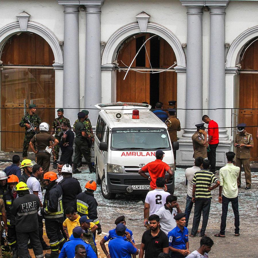 Explosiones en Sri Lanka