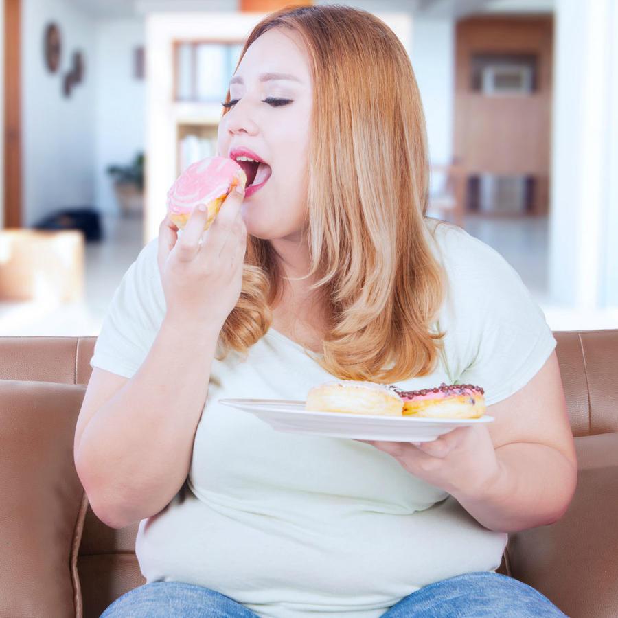 Mujer sedentaria