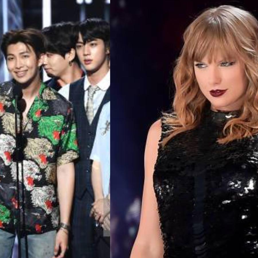 BTS y Taylor Swift memes