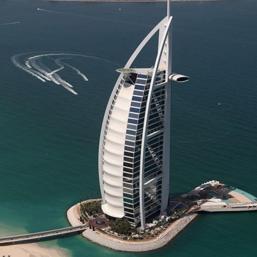 Burj Al Arab, el hotel más lujoso del mundo