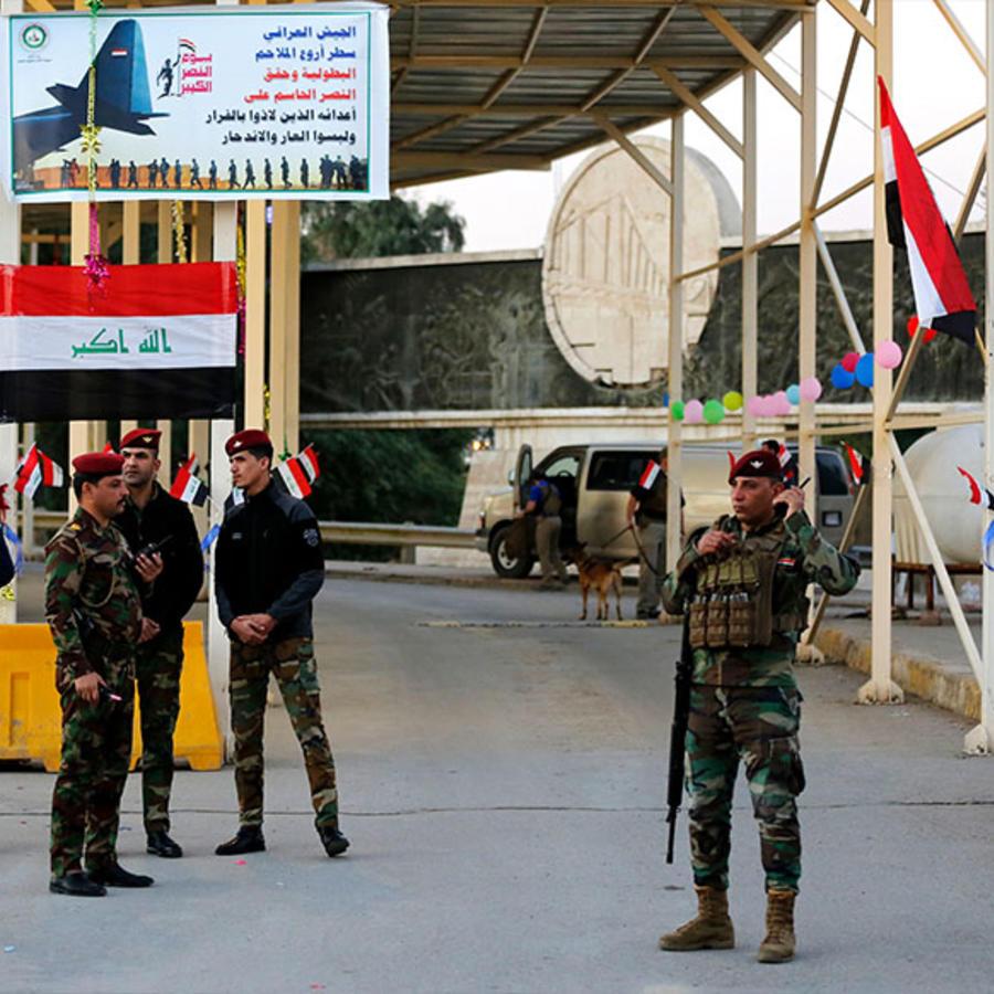 Zona Verde de Irak
