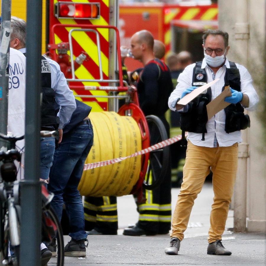 Explosión en Lyon, Francia, hoy