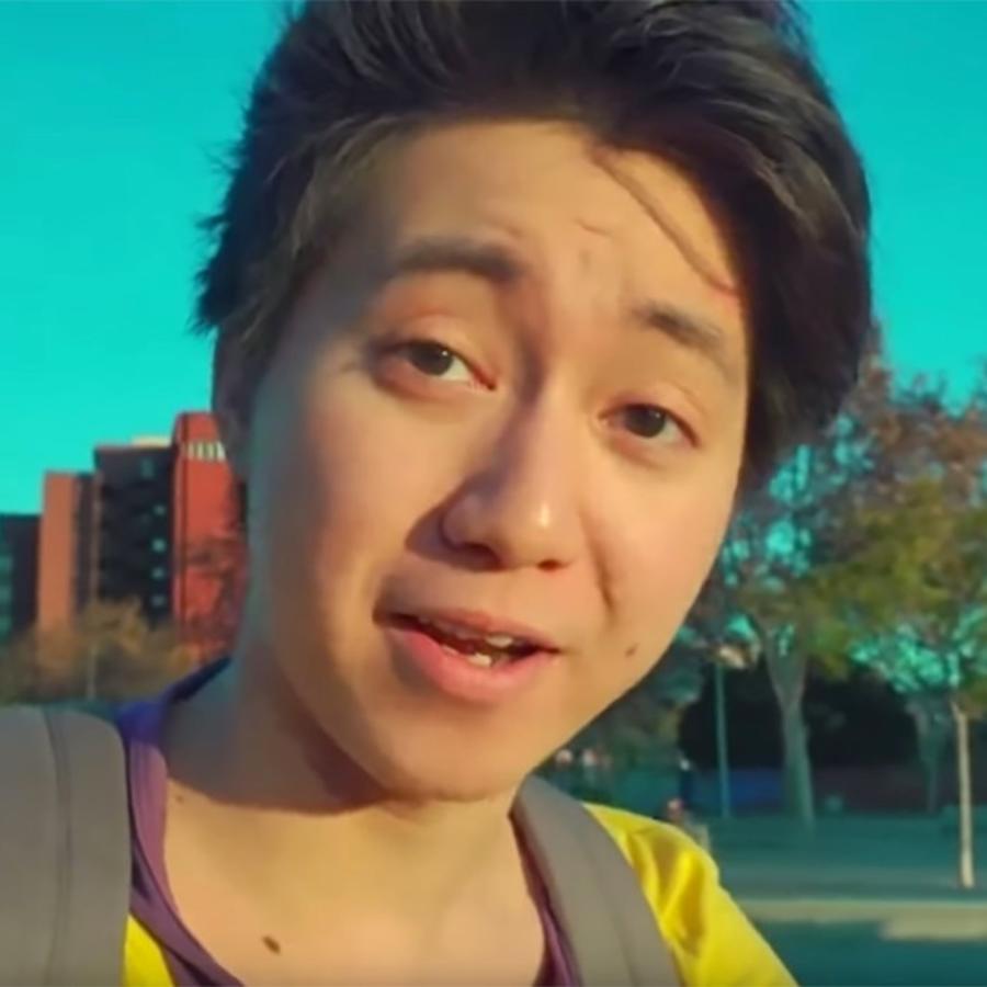 Captura de pantalla de un vídeo de Kanghua R., conocido como ReSet para sus seguidores de YouTube.