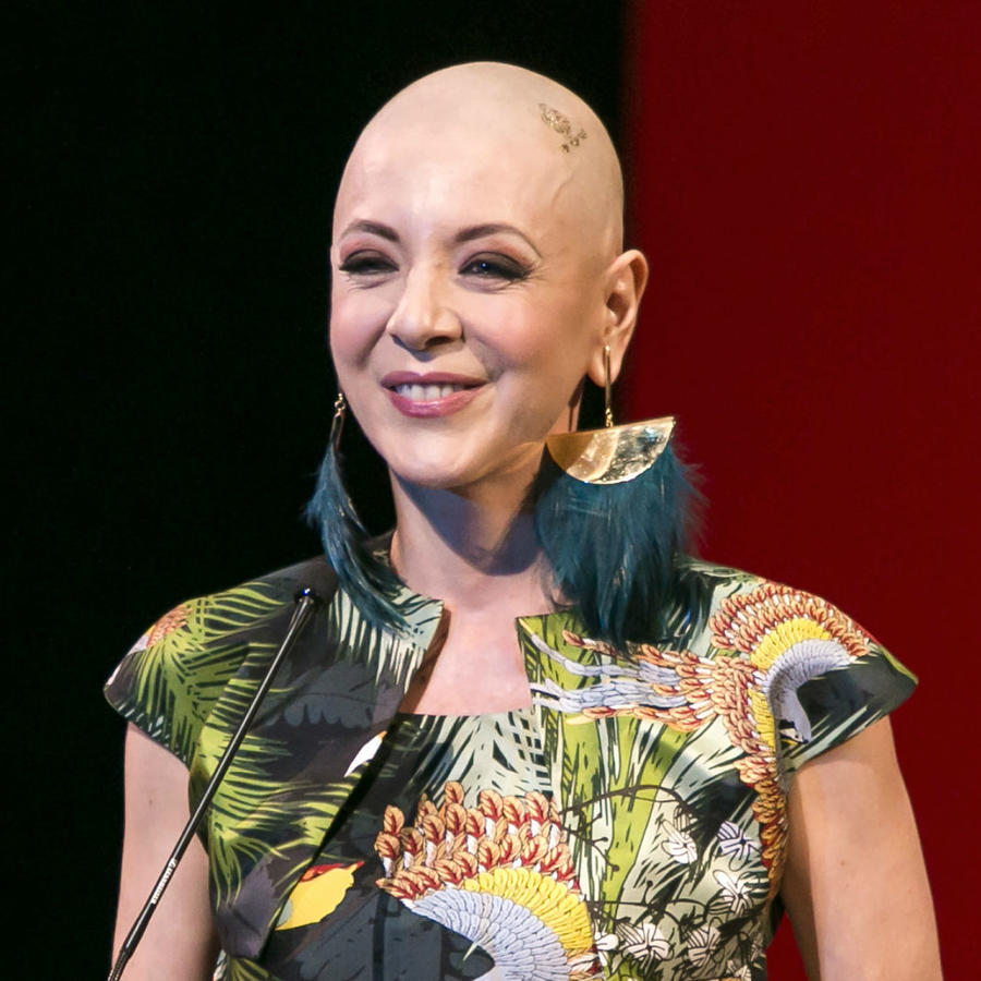 Edith González, tras luchar contra el cáncer en 2016
