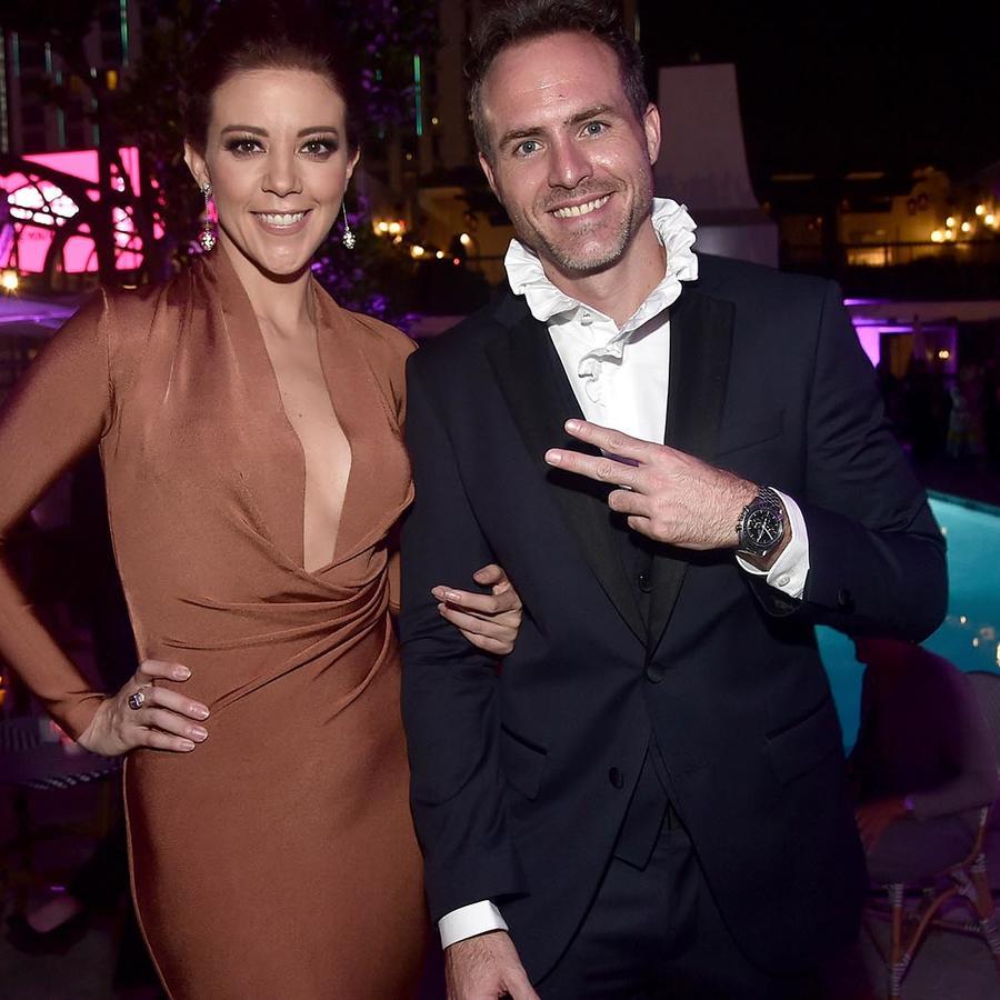 """Fernanda Castillo y Erik Hayser en en estreno de """"Ya Veremos"""""""