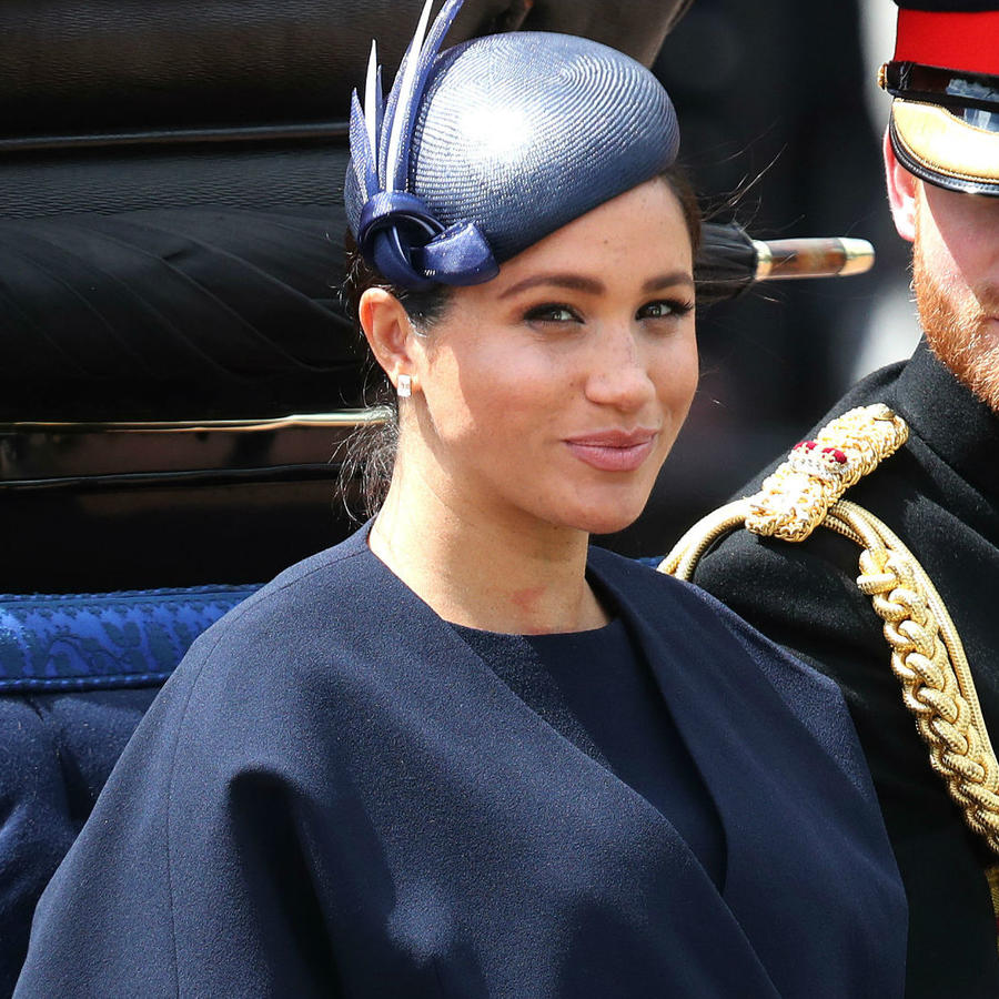 Meghan Markle en el Trooping The Colour 2019