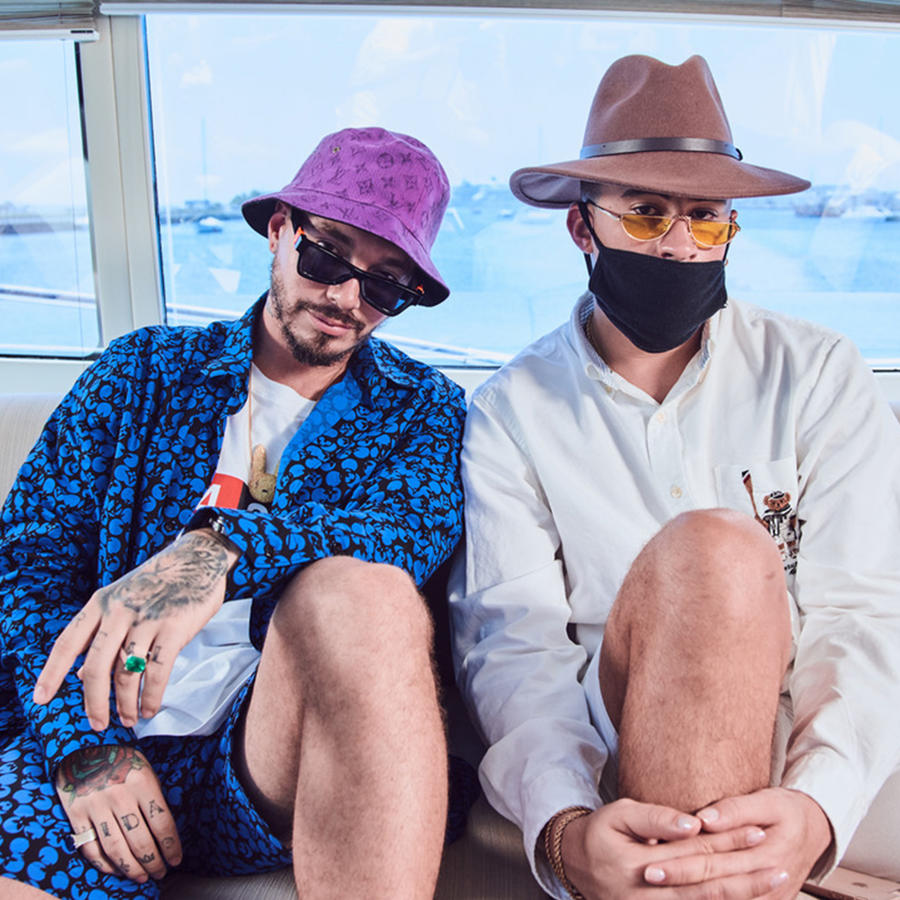 "J Balvin and Bad Bunny Surprise Fans with their first collaborative album ""Oasis"""