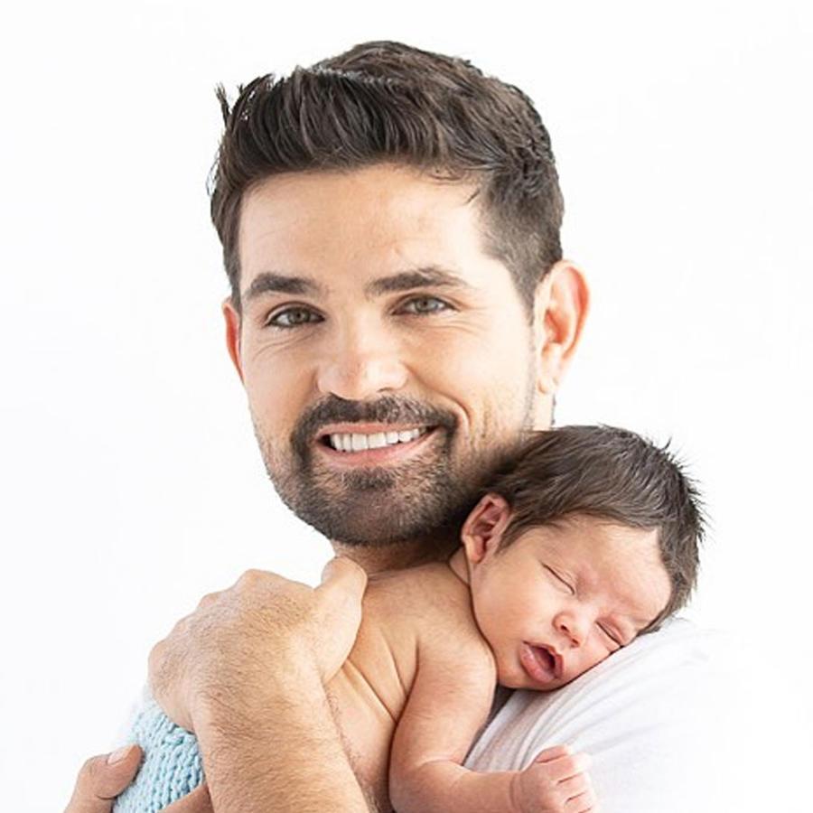 Ferdinando Valencia y su hijo Dante