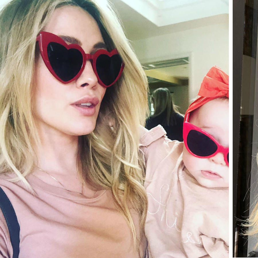 Hilary Duff y su hija