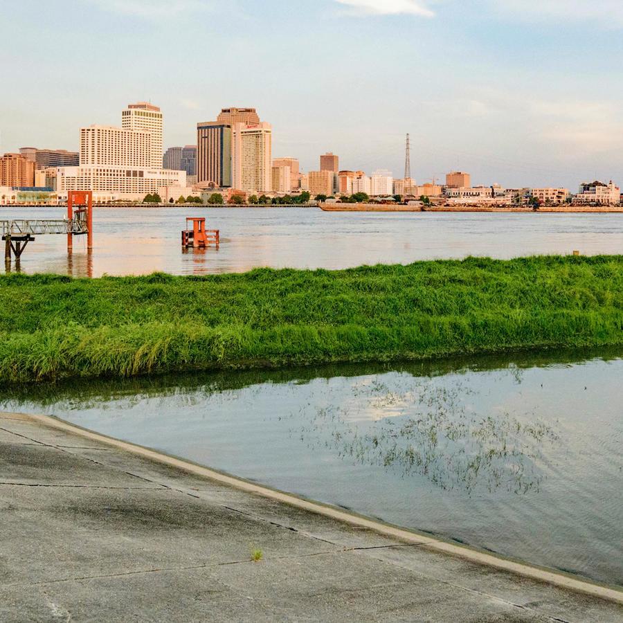 Diques en Nueva Orleans están a prueba con el paso de la tormenta Barry