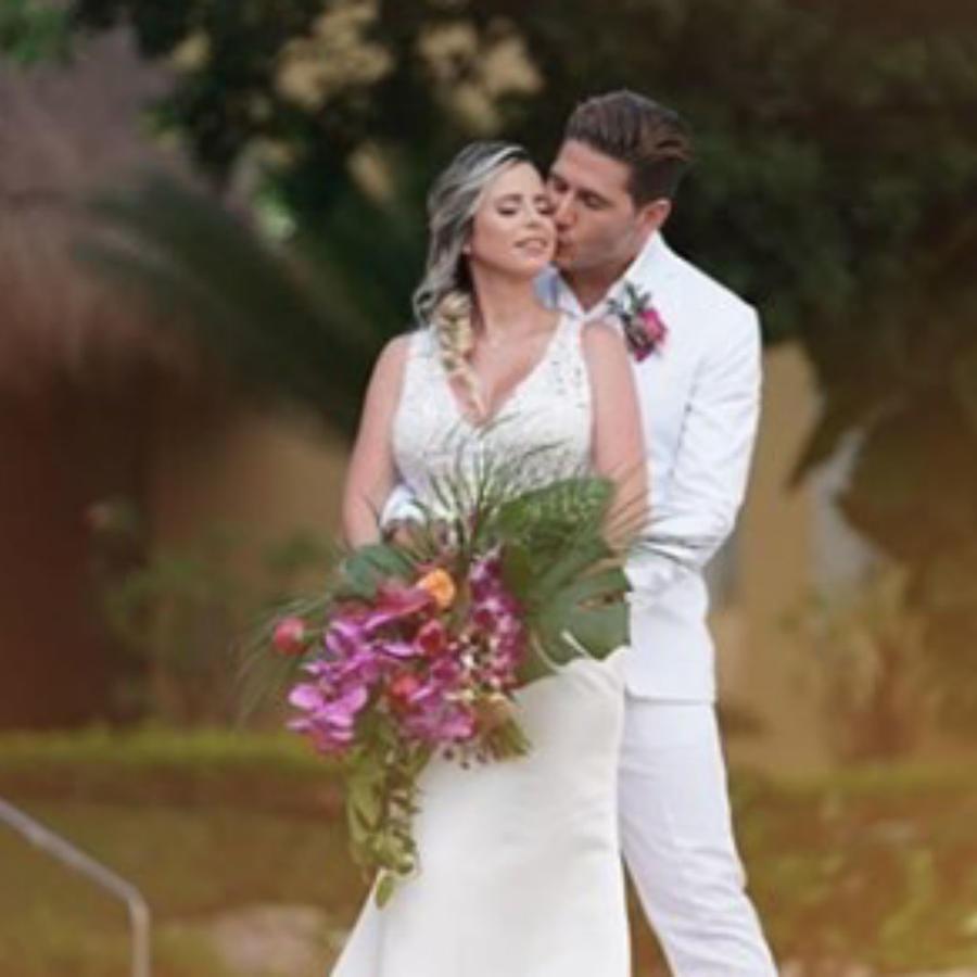 El Chef James se casó en la Riviera Maya