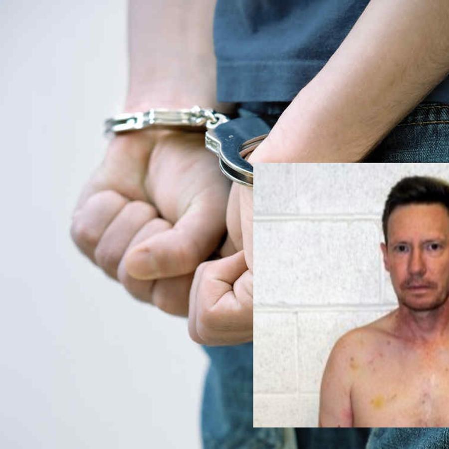 El millonario detenido Peter Chadwick.