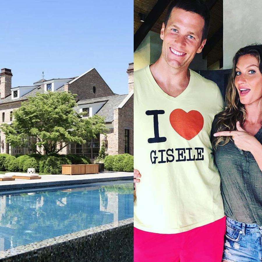Tom Brady y Gisele Bündchen venden su mansión