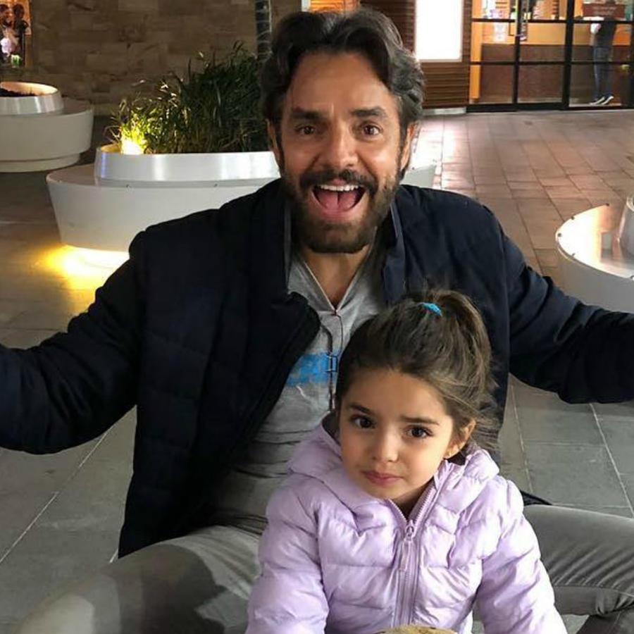 Eugenio Derbez y Aitana Derbez