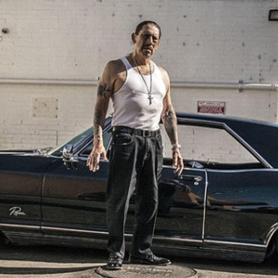 Danny Trejo 'Machete' Helps Save a Baby Trapped in Overturned Car in Los Angeles