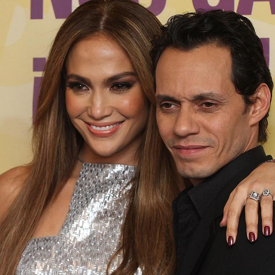 Jennifer Lopez y Marc Anthony en Teleton 2010