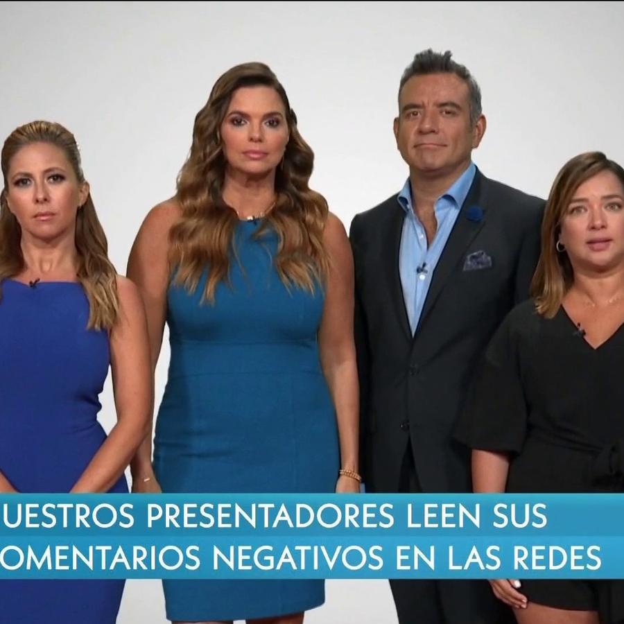 La Chiquibaby, Rashel Díaz, Héctor Sandarti y Adamari López