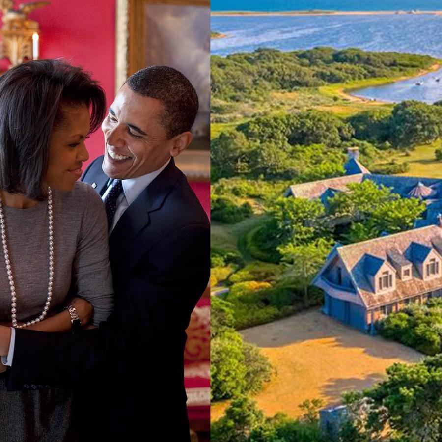 Barack Obama y Michelle Obama buscan mansión