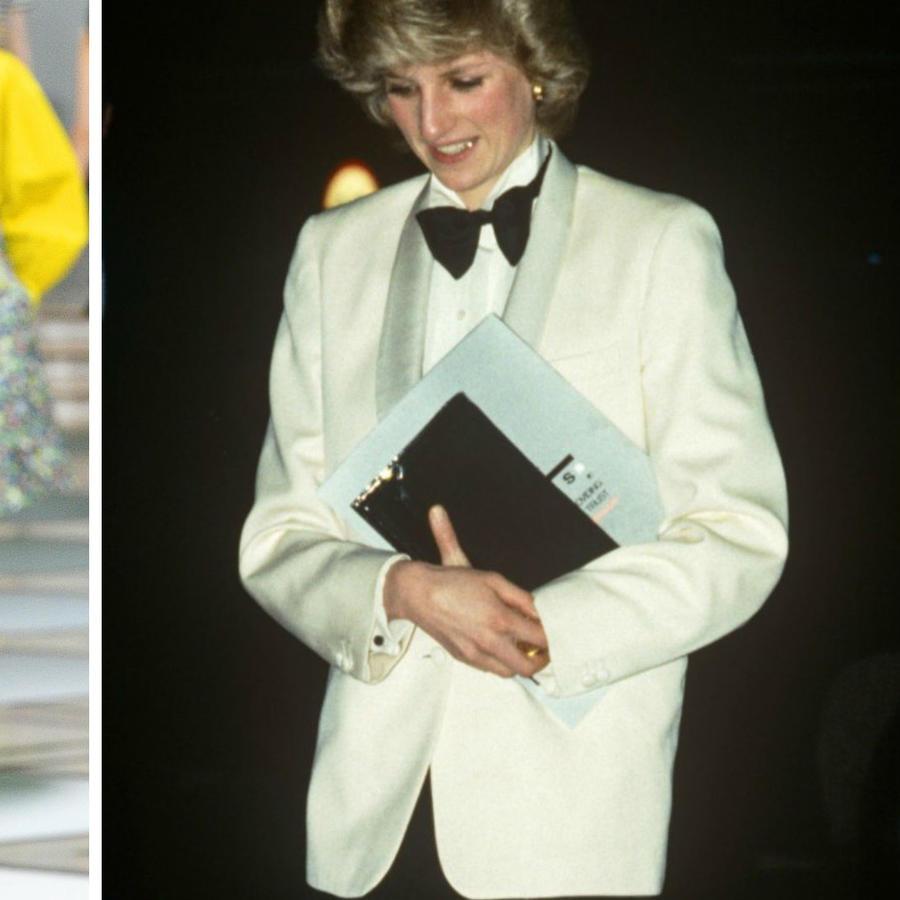 Desfile de Tory Burch y la princesa Diana