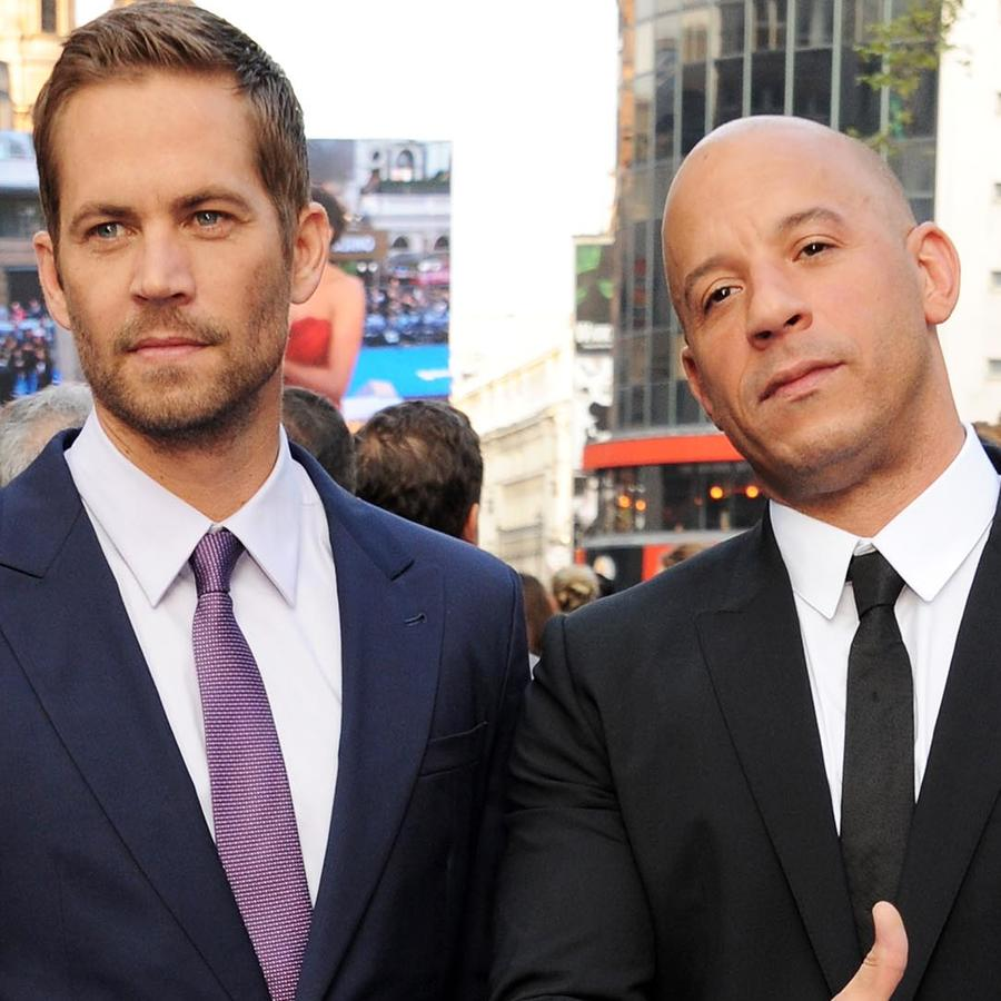 Paul Walker y Vin Diesel en al estreno mundial de Fast & Furious 6