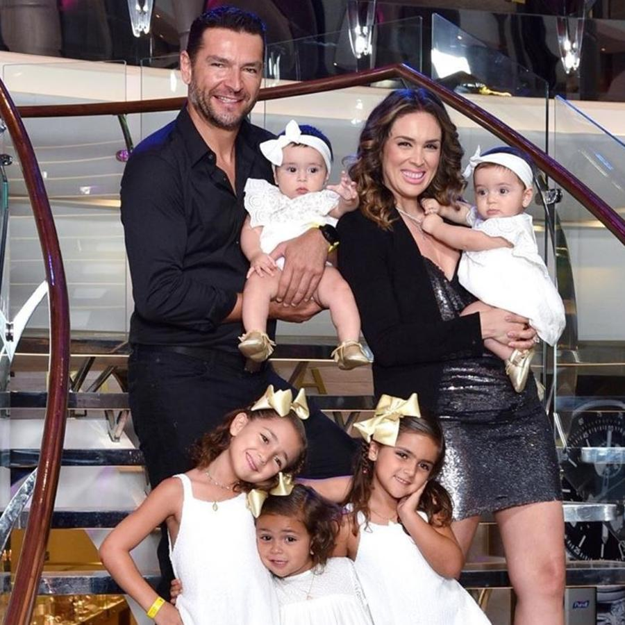 Jacqueline Bracamontes y su familia