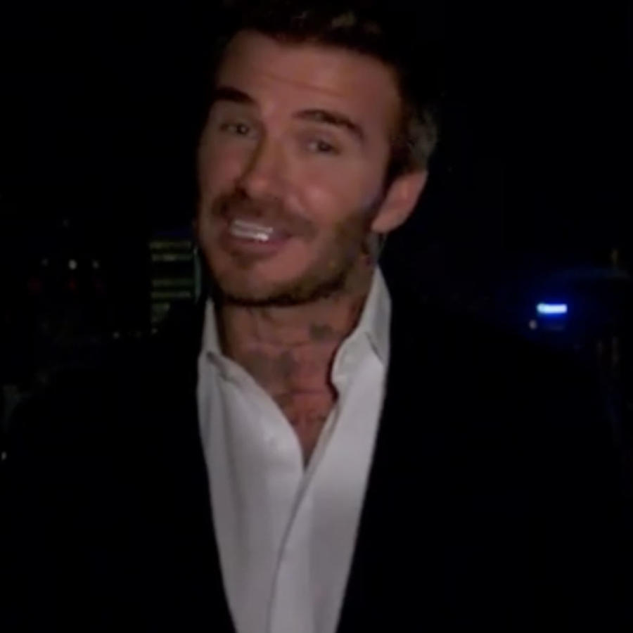 David Beckham le envía un mensaje a Sergio Ramos