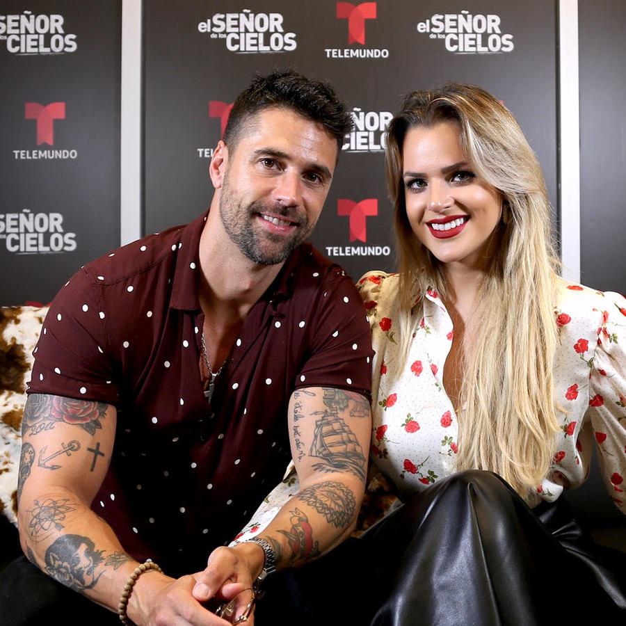 Matías Novoa e Isabela Castillo