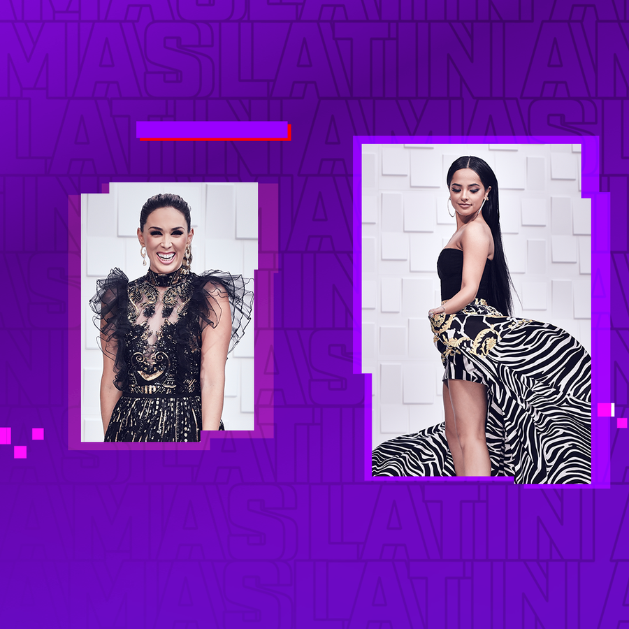 Jacky Bracamontes, Becky G, Gaby Espino - alfombra roja Latin AMAs 2019