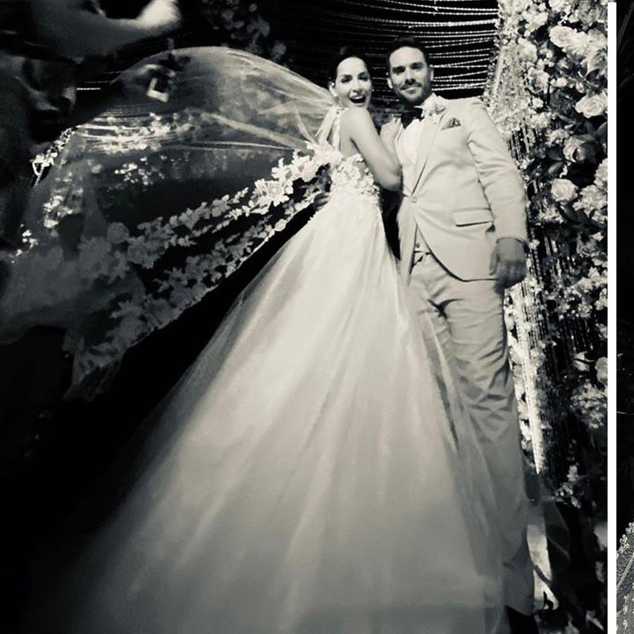 Los vestidos de boda de Carmen Villalobos