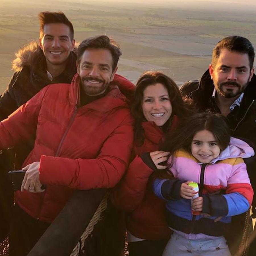 Los Derbez en sus vacaciones por Marruecos