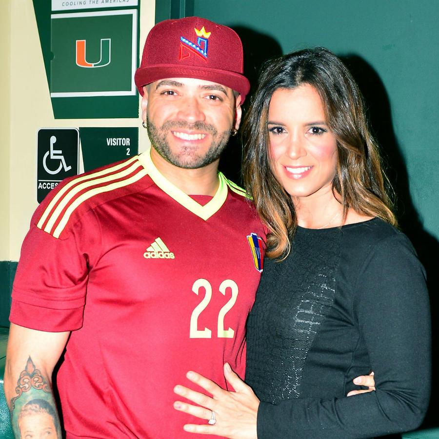 Nacho Mendoza e Inger Devera en 2017