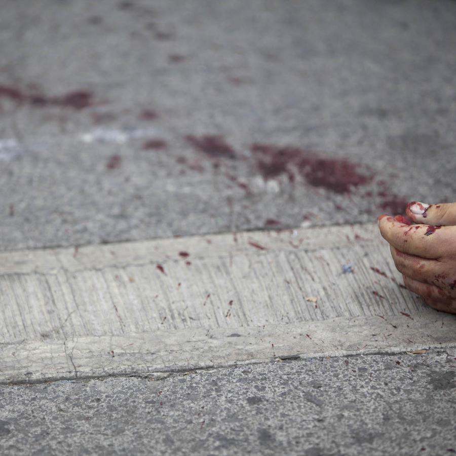 Imagen de archivo de un asesinato en la Ciudad de México en 2012.