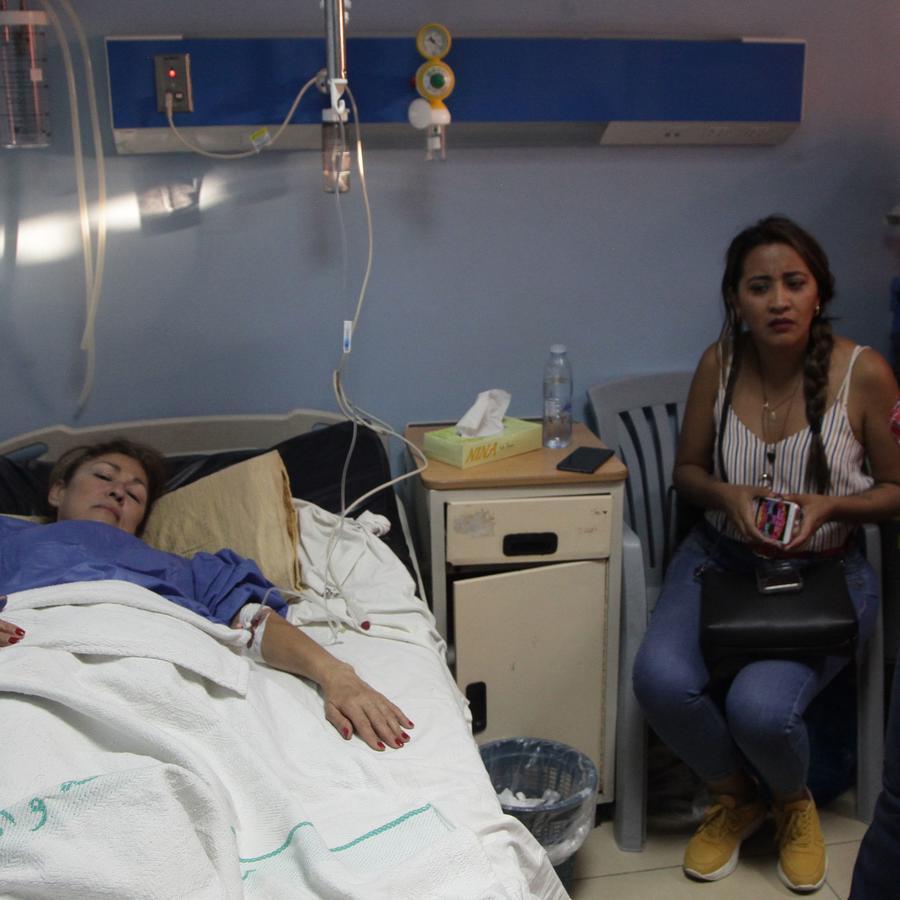 Luz María Núñez Balboa se recupera de un ataque con cuchillo en Jordania