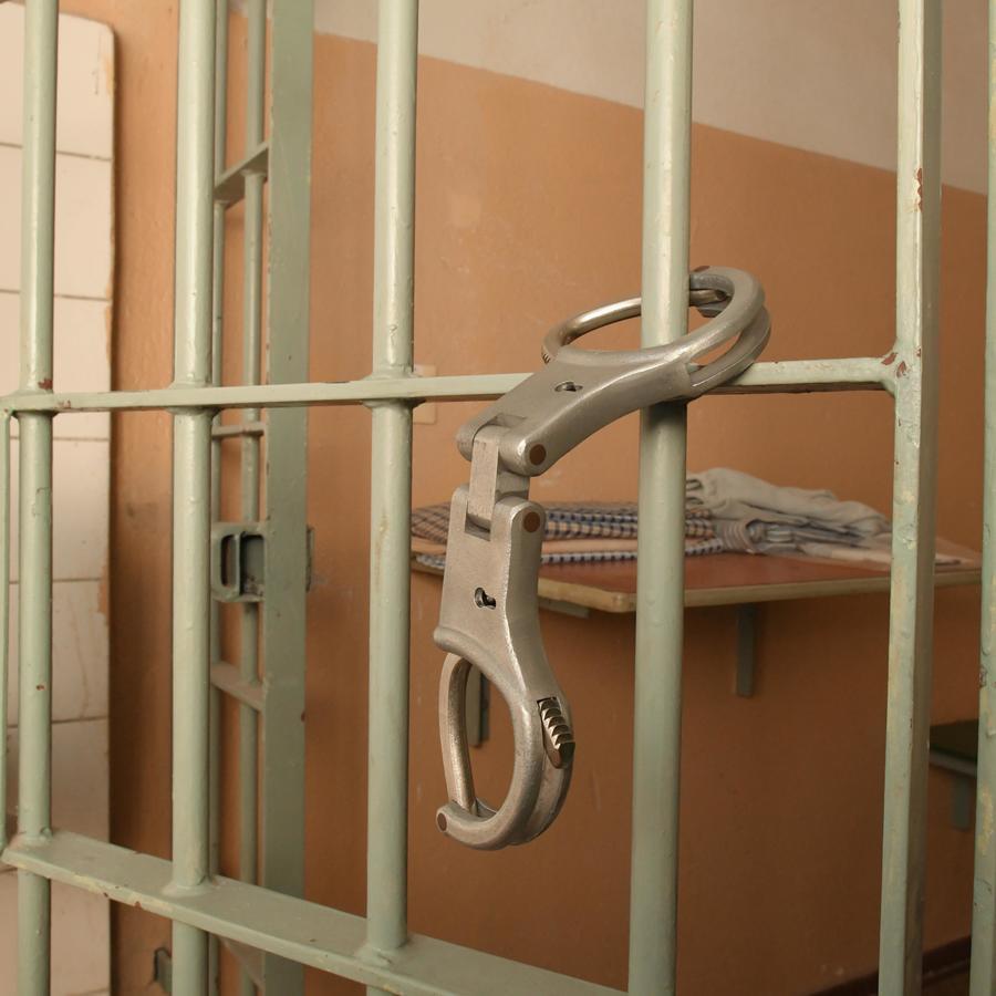 Fotografía de archivo de una celda de prisión
