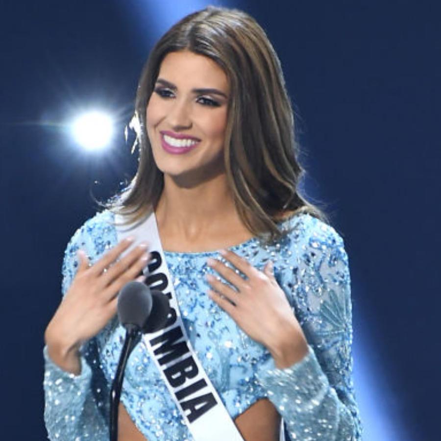 Gabriela Tafur, Miss Colombia, en el escenario de Miss Universo 2019