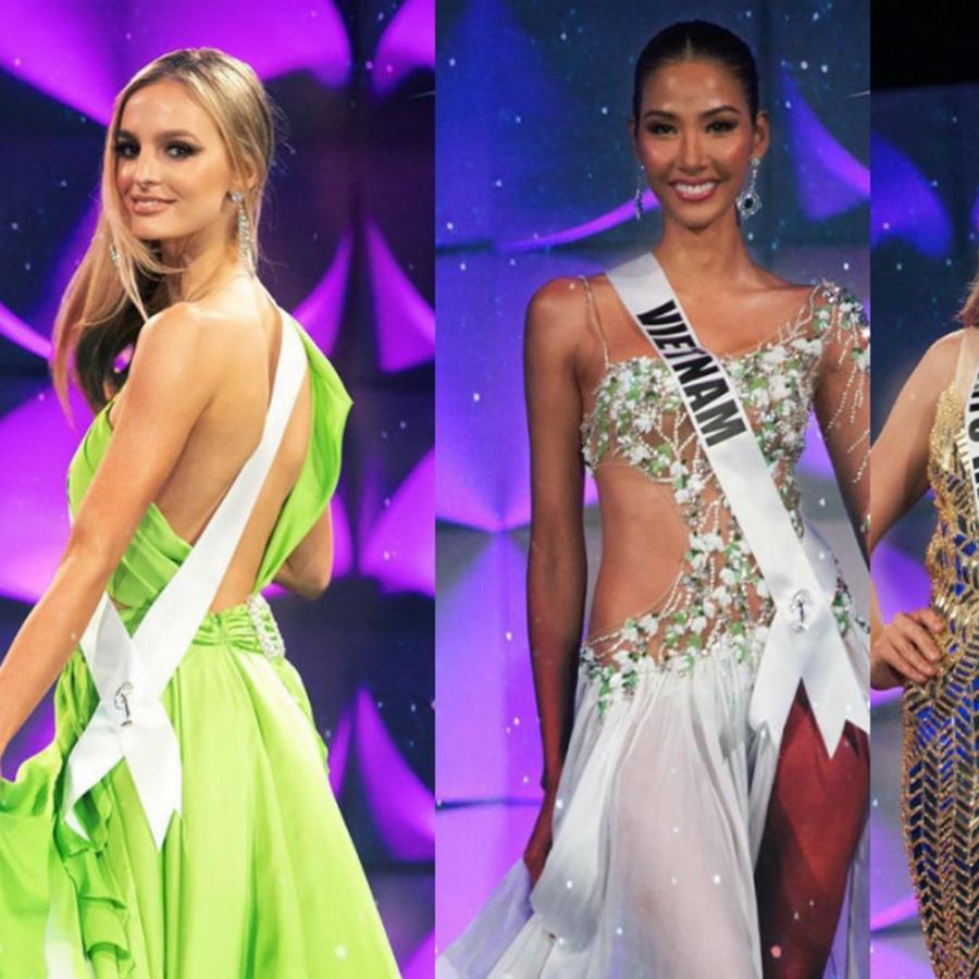 Miss Albania, Miss Vietnam, Miss Puerto Rico, Miss México, Miss Universo 2019